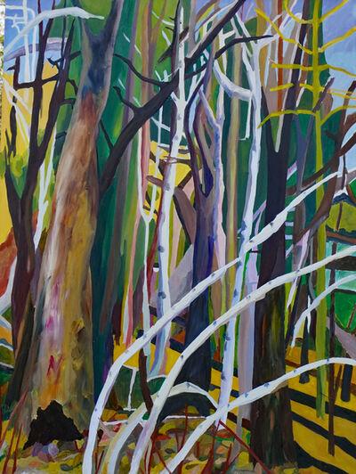 Yvonne Troxell Lamothe, 'Forest from Window', 2020