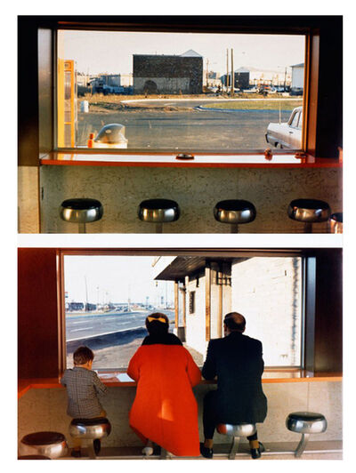 Dan Graham, 'View interior, New Highway Restaurant, Jersey City, NJ', 1967
