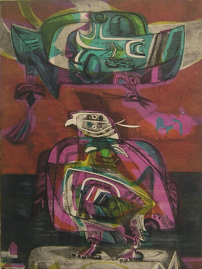 Alejandro Obregón, 'Les Palombes', 1956
