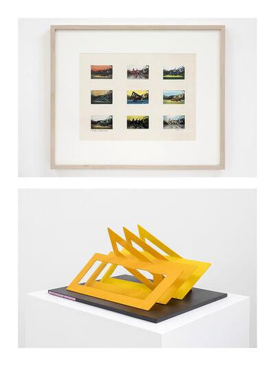 Helen Escobedo, 'Tríptico Amarillo / Puertas entrelazadas', 1979-1980