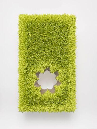 Donald Moffett, 'Lot 111916 (fleur, chartreuse)', 2016