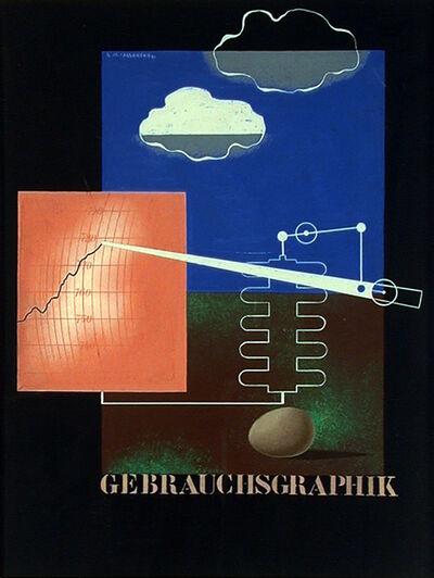 A.M. Cassandre, 'GEBRAUCHSGRAPHIK - MAQUETTE / ORIGINAL ART WORK', 1930