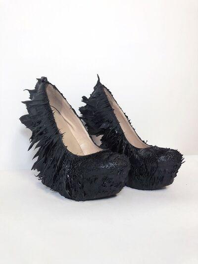 Iris van Herpen, 'Magnetic Motion Shoes', 2014
