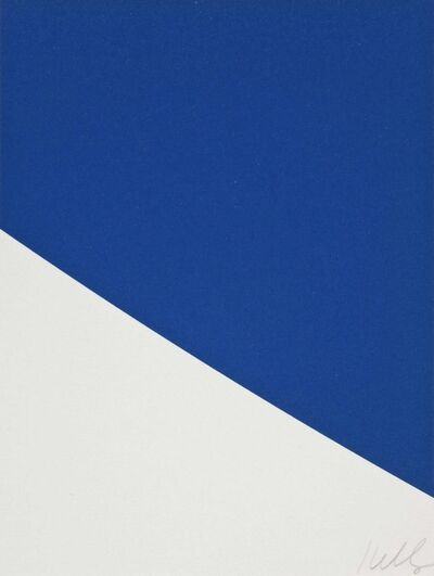 Ellsworth Kelly, 'Blue Curve', 1999