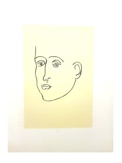 "Henri Matisse, 'Original Lithograph ""Apollinaire"" by Henri Matisse', 1952"