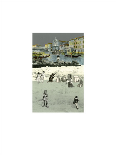 Peter Blake, 'Venice - 'Iceberg 2'', 2009
