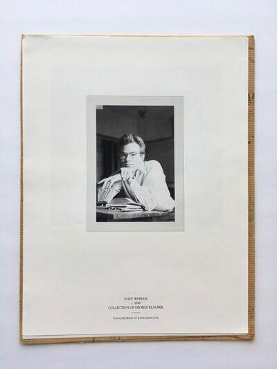 Andy Warhol, 'Panache Press promo portfolio for Pre-Pop Warhol', 2002