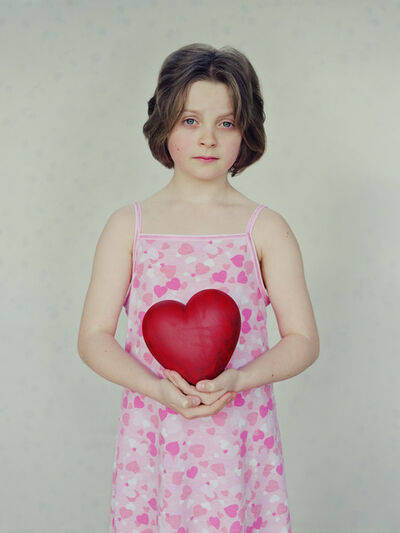 David Stewart, 'Alice with Hearts', 2000