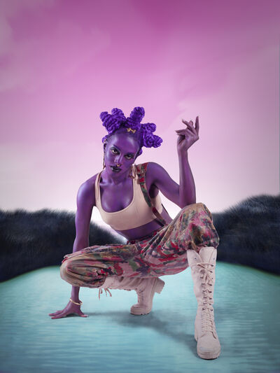 Juliana Huxtable, 'Untitled (Psychosocial Stuntin')', 2015