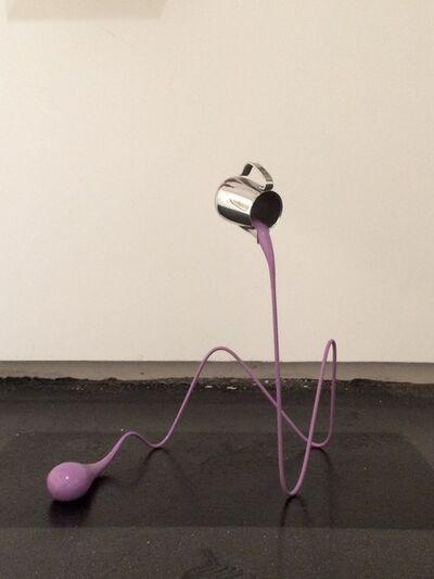 Markus Hofer, 'Liquid Drawing (Violett)', 2013