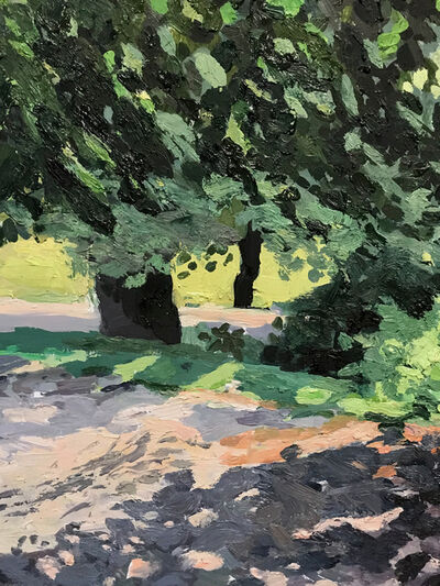 Sue Collier, 'Tree and Road', 2019