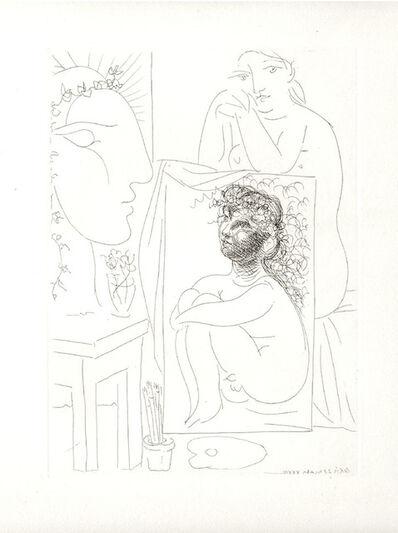 Pablo Picasso, 'Modèle, Tableau et Sculpture (S.V. 43)', 1933