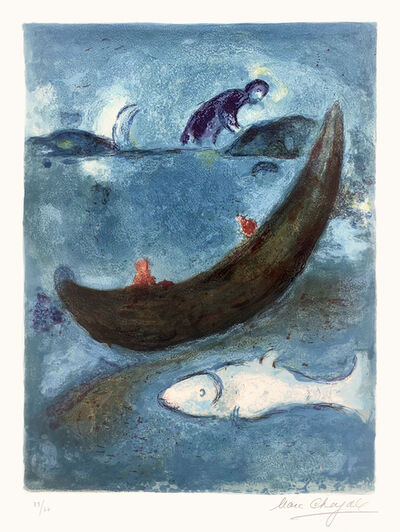 Marc Chagall, 'Le Dauphin mort et les trois cents Écus (The Dead Dolphin and the Thee Hundred Dracmas)', 1960