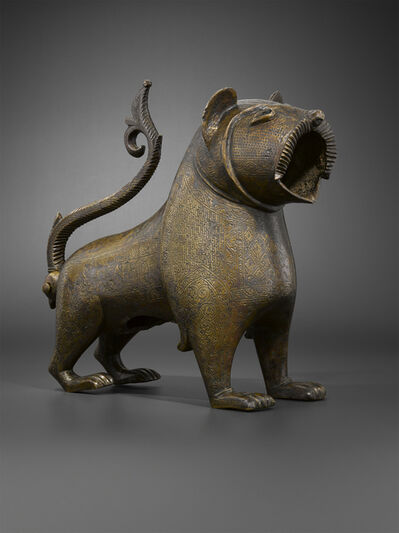 'Lion à queue articulée (Lion with an articulated tail)', 17th-18th century