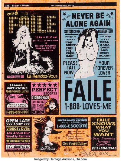 FAILE, 'Yellow Pages II', 2007