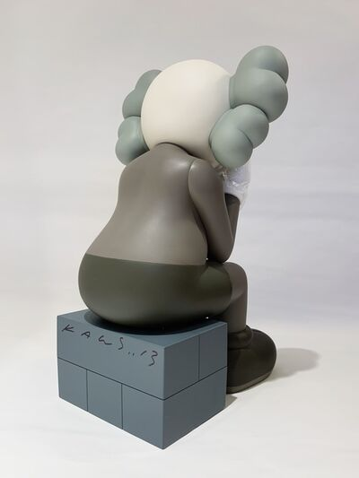 KAWS, 'SIGNED PASSING THROUGH BROWN', 2013