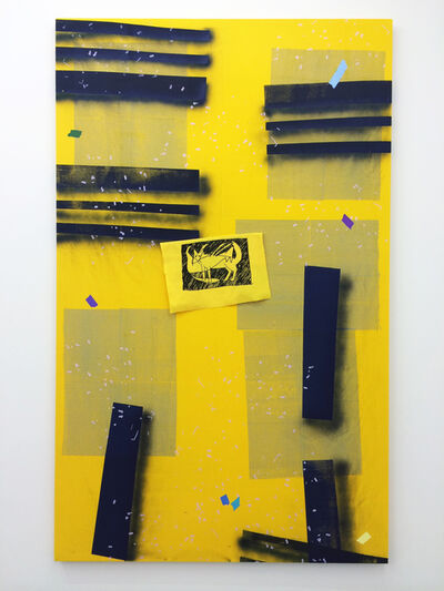 Amanda Curreri, 'Eff (Yellow)', 2016