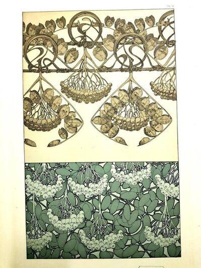 """Alphonse Mucha, 'Original Lithograph """"Plants"""" by Alphonse Mucha', 1902"""