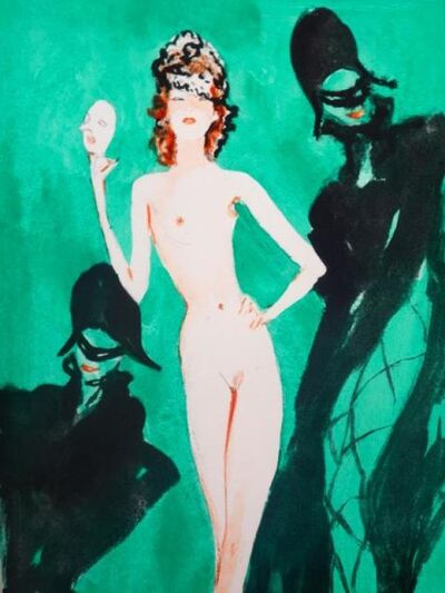 Jean Gabriel Domergue, 'Les oraisons amoureuses', 1951