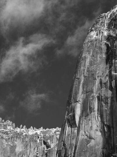 Jim Banks, 'Cliff Face, Winter, Yosemite National Park, California', 2019