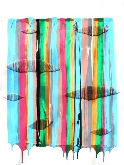 Raul de la Torre, 'FILS I COLORS 162 (framed)', 2013
