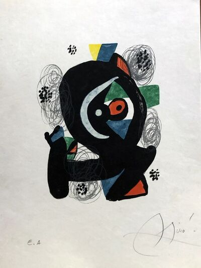 Joan Miró, 'La mélodie acide - 2', 1980