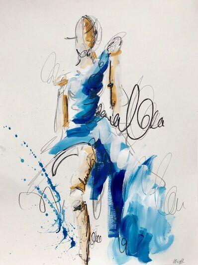 Ash Almonte, 'Blue Dress', 2018