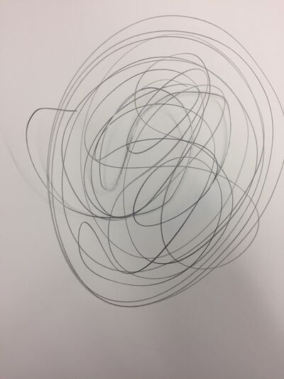 Mary-Ann Monforton, 'Wire and Pencil Drawings', 2018