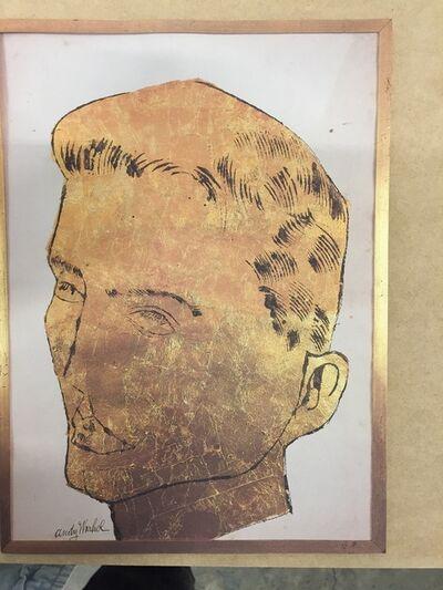 Andy Warhol, 'Robert Miller Gallery, Warhol Drawings, Three Part Card', 1988