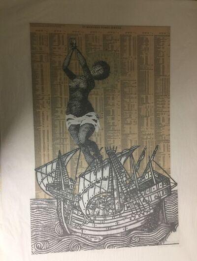 Godfried Donkor, 'Hanging Madonna', 2016