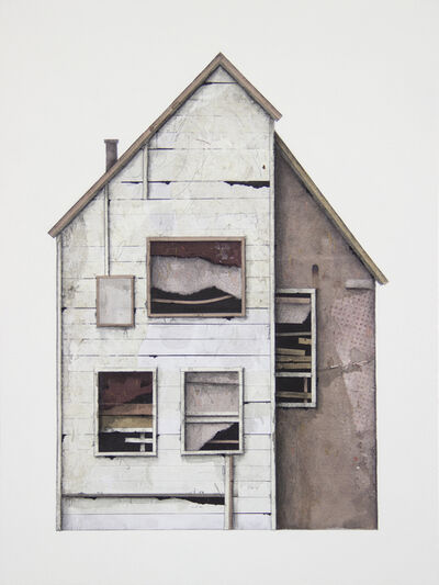 Seth Clark, 'House Portrait (split)', 2019