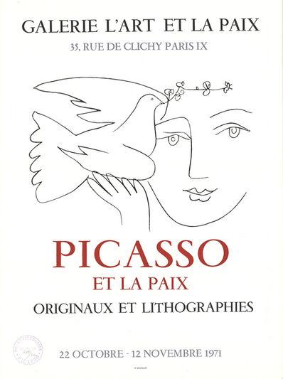 Pablo Picasso, 'Galerie L'Art Et la Paix, Paris', 1971