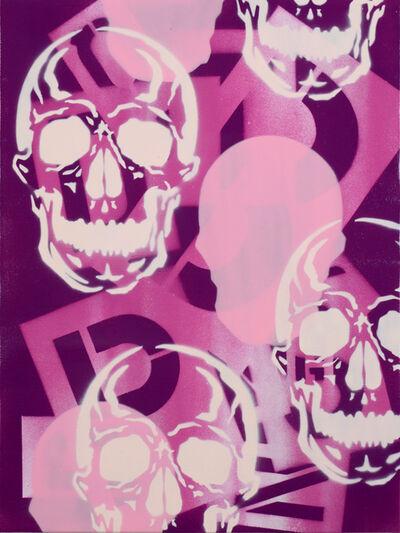 SEEN, 'Mini Skull Pink', 1998