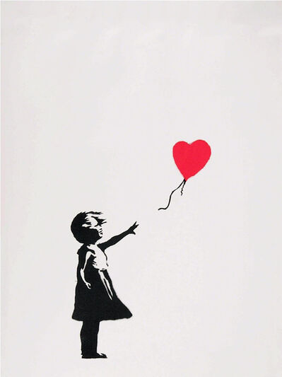 Banksy, 'Girl With Balloon', 2004