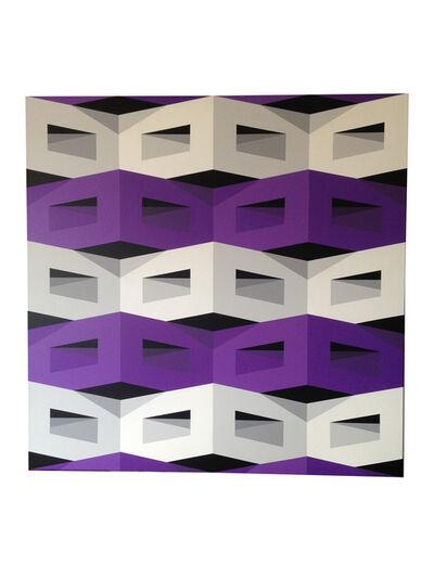 Alberto Jose Sanchez, 'Horizontal Violet', 2016