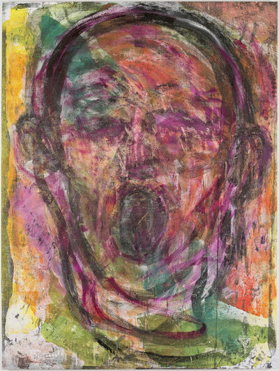 Jim Dine, 'Poet Singing in Vienna #1', 2016