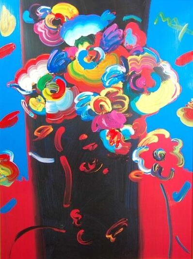 Peter Max, 'Roseville Profile', 1991