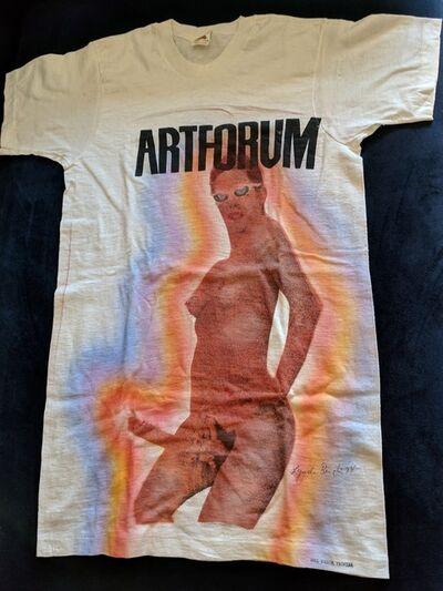 Lynda Benglis, 'Artforum T-Shirt', 1974