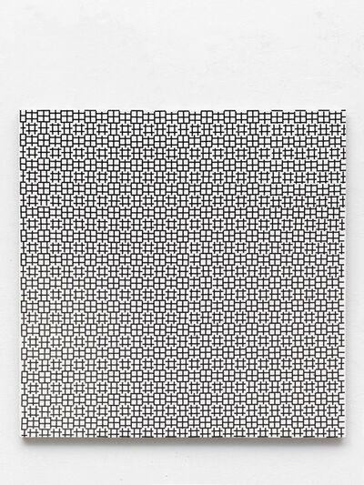 Gregor Hildebrandt, 'Morellet modular (Krafwerk)', 2017
