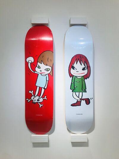 Yoshitomo Nara, 'Yoshitomo Nara Skateboard Deck Set', 2017