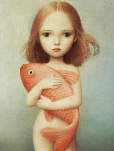 Nicoletta Ceccoli, 'Innocence (Card n. 6)', 2016