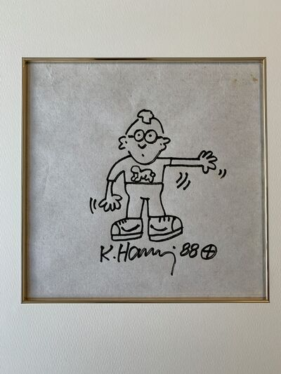 Keith Haring, 'Untitled・Self Portrait', 1989