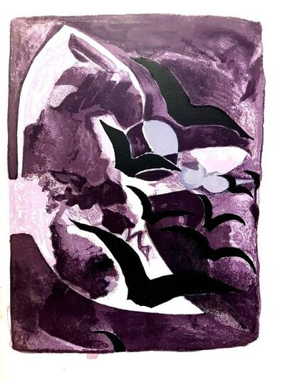 """Georges Braque, 'Original Lithograph """"Night Birds"""" by Georges Braque', 1964"""