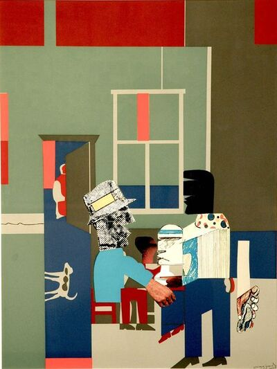 Romare Bearden, 'Carolina Blue', 1969