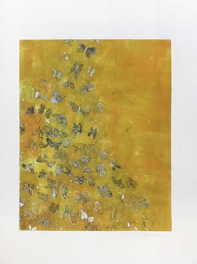 Fumiko Toda, 'Butterfly Away (Yellow)', 2016