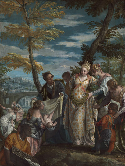 Paolo Veronese, 'The Finding of Moses', probably 1570/1575