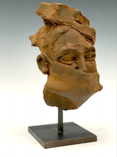 BOB CLYATT, 'Man's Head with Mask', 2020
