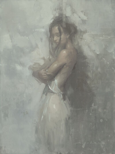 Jeremy Mann, 'Note in Pale Grey #2', 2019