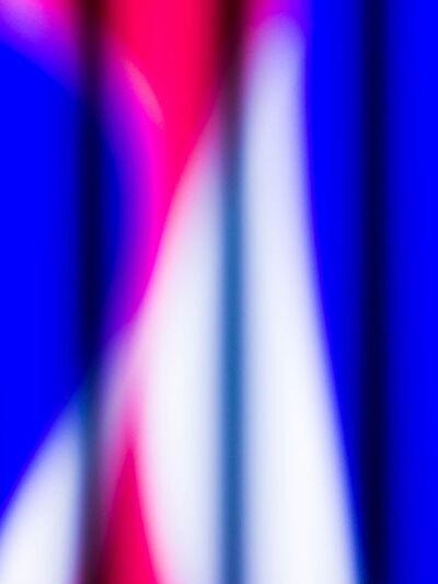 Hideo Anze, 'Stripe(50Hz)  2015:04:17 19:00:49 shinjuku-ku', 2015