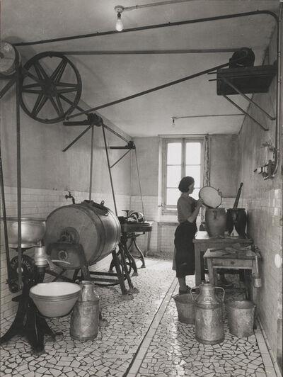 François Kollar, 'Type de laiterie dans une ferme Normande', ca. 1950